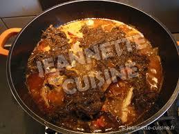 seche cuisine sauce klégléssou plat africain jeannette cuisine