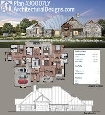 Split Ranch House Plans 40 Best Hill Country House Plans Images On Pinterest Country