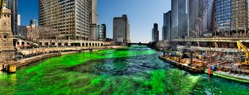 file green chicago river on saint patricks day 2009 jpg