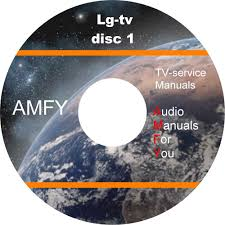 lg television service manuals and schematics on 4 dvd all files