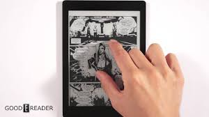 kobo aura one comic reading youtube