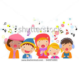 free choir kids vector illustration download free vector art