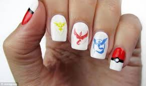 pokémon go beauty lovers up their game with eye catching nail art