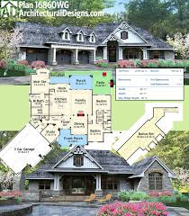 plan 16860wg new look mountain retreat craftsman house plans