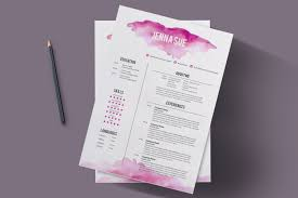 Resume Sample Hk by Modern Chic Cv Template Resume Templates Creative Market
