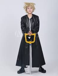 Kingdom Hearts Halloween Costumes Kingdom Hearts Organization Xiii Roxas Cosplay Costume Halloween