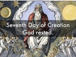 days of creation by m p
