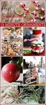 Diy Christmas Ornaments by 15 Minute Diy Christmas Ornaments The 36th Avenue