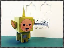 tinky winky dipsy laa laa po free paper toys download