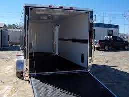 enclosed trailer led lights 16 enclosed motorcycle cargo trailer a c unit e track finished led