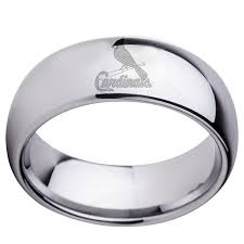 st louis wedding bands st louis cardinals dome silver wedding band crazycoolcustomtees