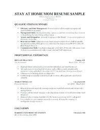 stay at home resume template stay at home resume resume stay at home resume skills resume
