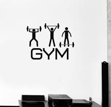vinyl wall decal gym fitness bodybuilding iron sport stickers vinyl wall decal gym fitness bodybuilding iron sport stickers mural