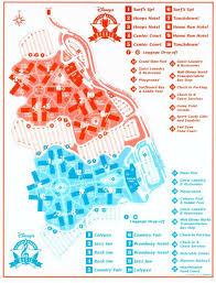 walt disney resort map disney s all sports resort walt disney resorts and hotels