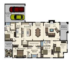 Covington Floor Plan by Active Community In Opelika The Springs Of Mill Lakes