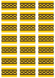 west midlands flag stickers 21 per sheet