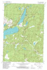 Map Of Wisconsin And Michigan by Smoky Lake Topographic Map Wi Mi Usgs Topo Quad 46088a8