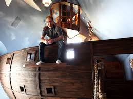 Pirate Ship Bedroom by Steve Kuhl High Fashion Home Blog