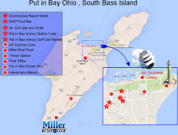 Sandusky Ohio Map by Directions To Put In Bay Ohio Commodore Resort Hotel