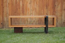 Custom Metal And Wood Furniture Arbor Exchange Reclaimed Wood Furniture Consule Bench With