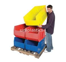stackable bins stacking plastic bins and containers on sale