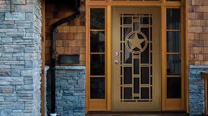 unique home designs security door 2 unique home designs door