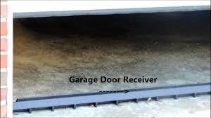 Overhead Door Threshold by Garage Door Barrier System Youtube