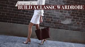 classic wardrobe how to build a classic wardrobe six easy tips mademoiselle