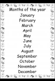 spelling u2013 months of the year free printable worksheets