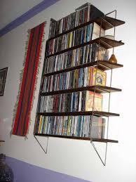 Media Storage Shelves by Cd Wall Storage Shelves