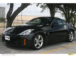 Nissan 350z Black - magnetic black 2008 nissan 350z coupe exterior photo 50110431