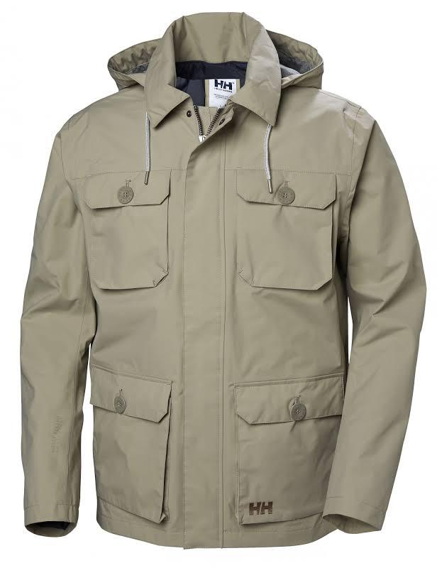 Helly Hansen Kobe Field Jacket Aluminum Medium 64036-706-M