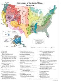 The United States Map With Names by Ecoregions Of The United States Ecoregions Rmrs Us Forest