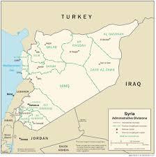 Homs Syria Map by Maps Of Syria Bizbilla Com