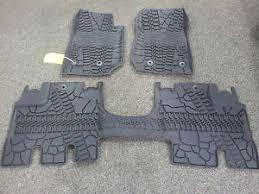 2014 jeep floor mats 2014 2017 jeep wrangler four door slush style floor mats winter