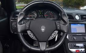 maserati steering wheel 2013 maserati granturismo mc convertible sport for sale in norwell