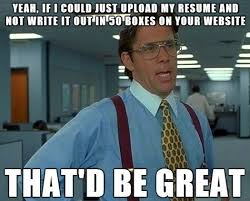 Job Hunting Meme - 12 best job hunting images on pinterest hunting college and