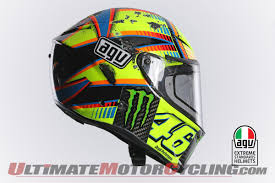 agv motocross helmets rossi u0027s agv pista gp helmet crash analysis