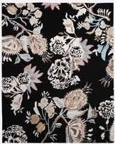 floral black area rugs bhg com shop