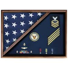 Military Funeral Flag Presentation Flag Display Cases For 5 Ft X 9 5 Ft Flag