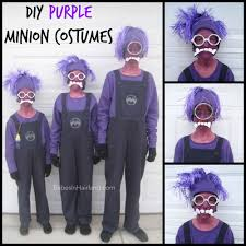 Minion Halloween Costume Baby Minion Diy Purple Minion Costumes Babesinhairland Halloween