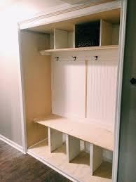 a closet how to turn a closet into a mudroom u2014 jessica rayome