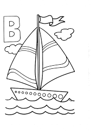 b coloring pages letter b coloring pages for toddlers the