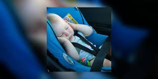 legislation siege auto enfant siège auto de bébé où le placer en voiture quelle est la