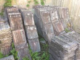 approx 400 marley ludlow major roof tiles brown grey colour in