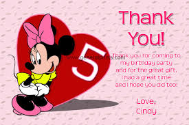 minnie mouse thank you cards minnie mouse birthday invitations general prints
