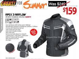 vented motorcycle jacket dririder apex 3 u0027airflow u0027 motorcycle jacket black grey white