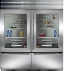 Glass Door Home Refrigerator by Sub Zero Bi36ug 36 Inch Built In Bottom Freezer Refrigerator With