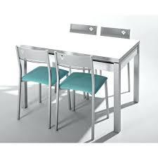 table cuisine verre table de cuisine en bois avec rallonge table salle a manger bois