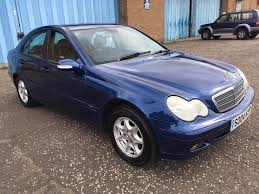 2004 mercedes benz c class 1 8 mot june 2018 service history